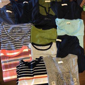 Abercrombie Bundle of 13 Shirts